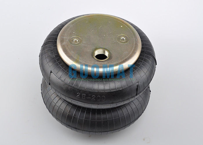 W01-358-6900 Double Convoluted Air Spring With 3/4 NPT Air Inlet Rubber Bellows W013580138